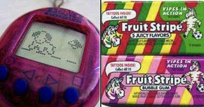 Toys, games and candy that causes nostalgia for the 90s kids.