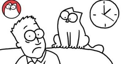 Simon's cat video for father's day