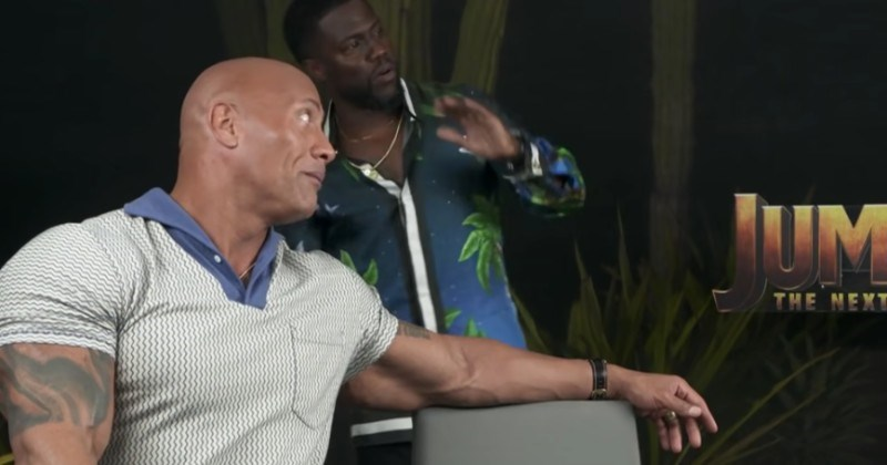 insects butterfly freakout ridiculous celeb the rock reaction kevin hart funny - 100702465