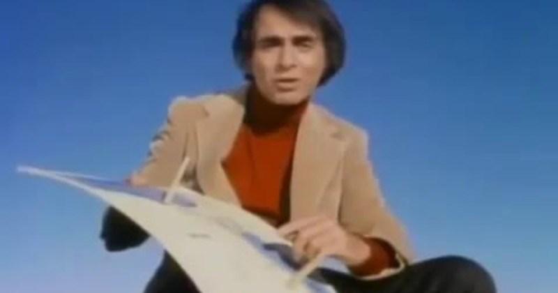 Video Carl Sagan Explains Why Earth Is Round