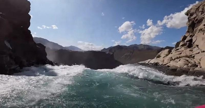 Man Kayaks Over 134-Foot Waterfall