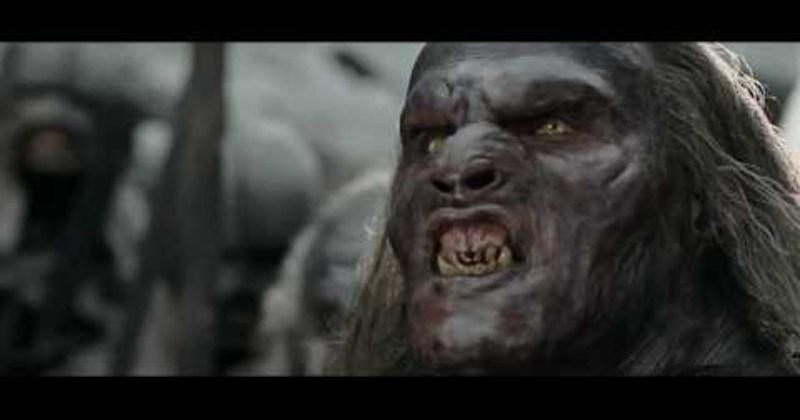 Uruk-hai dubbed with regular voices