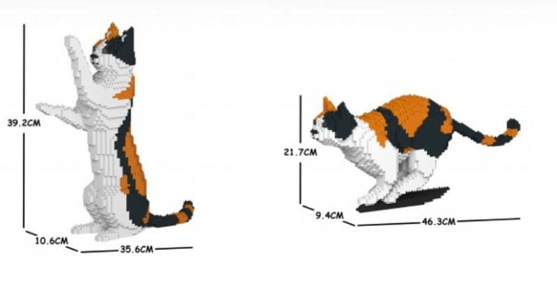 Company Offers Paw-mazing DIY Cat Model Kits You Can Build On Your Own