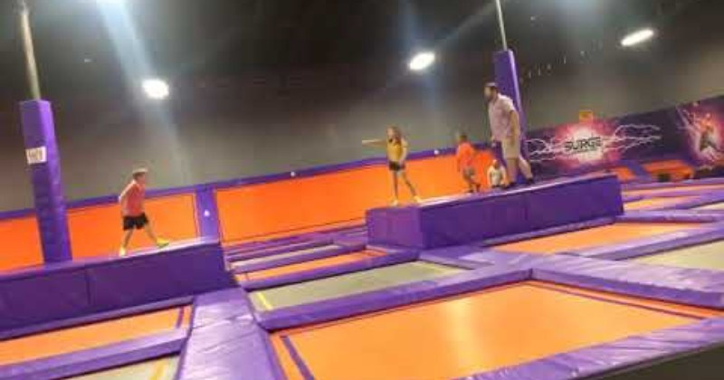 Dad Fully Commits To Front Flip, Pain Ensues
