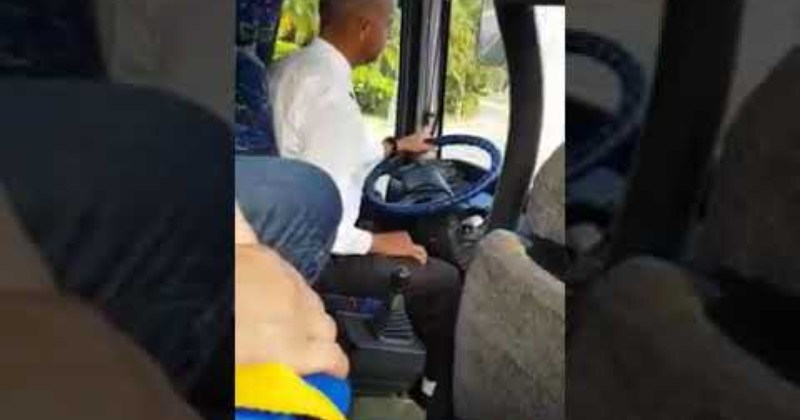 Delicate Bus Driver Shifts With The Velvet Touch