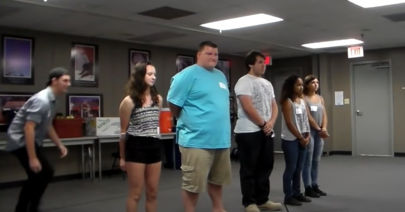Six Flags Zombie Auditions