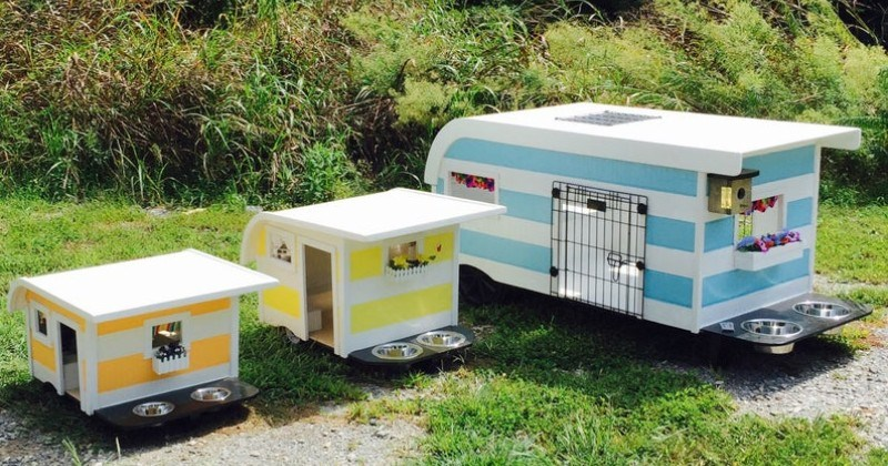 Your Dog Can Now Experience The RV Lifestyle With These Camping Trailer Beds