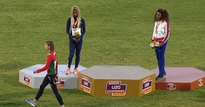 Gold Medal Belarus Athlete Walks Off Awards Podium As Wrong Anthem Plays