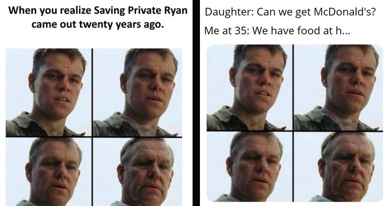 'Aging Matt Damon' Memes Are Making Us Feel Really Out Of Touch