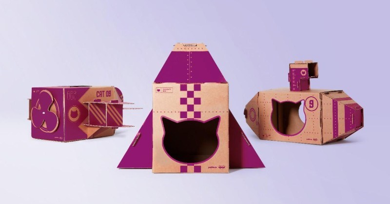 "New Ad Encourages Cats' Curiosity And Indoor Play With ""Curiosity Boxes"""