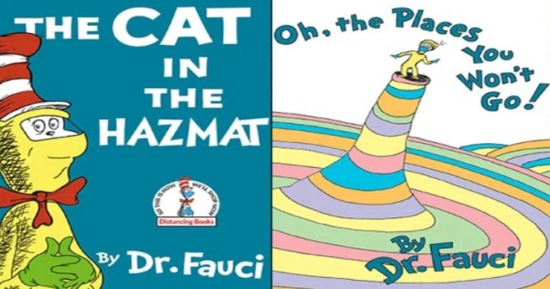 Artist Updates Classic Dr. Seuss Book Covers To Fit Today's Crazy Times