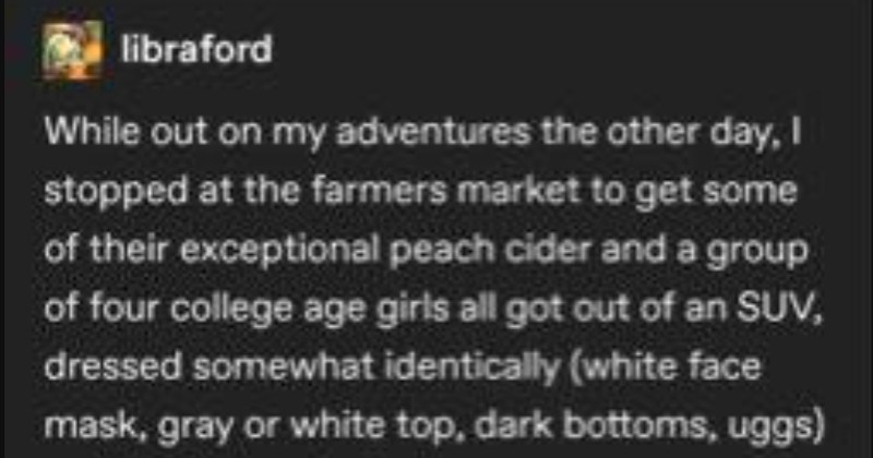 Tumblr Thread: Girls Discover Unequaled Joy At Pumpkin Patch
