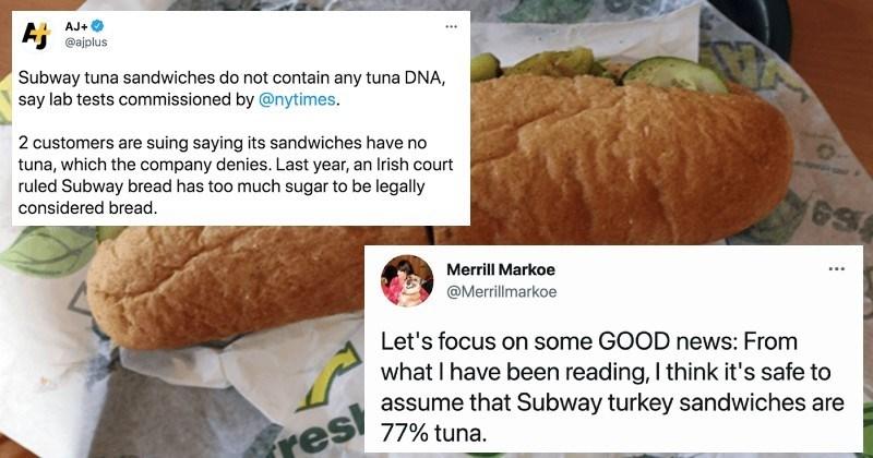 Subway Under Fire For Iffy Tuna Sandwiches