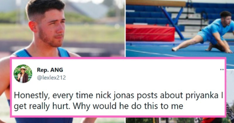 nick jonas tweets   thumbnail text - Rep. ANG @lexlex212 Honestly, every time nick jonas posts about priyanka I get really hurt. Why would he do this to me 1:59 AM · Jul 20, 2021 · Twitter for iPhone