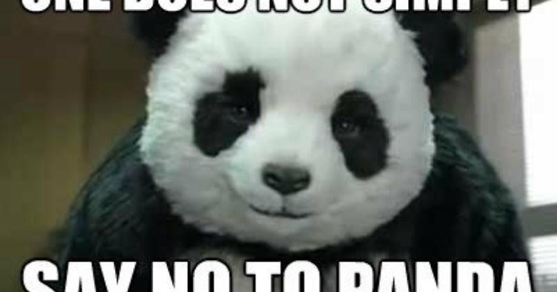 Dating panda meme