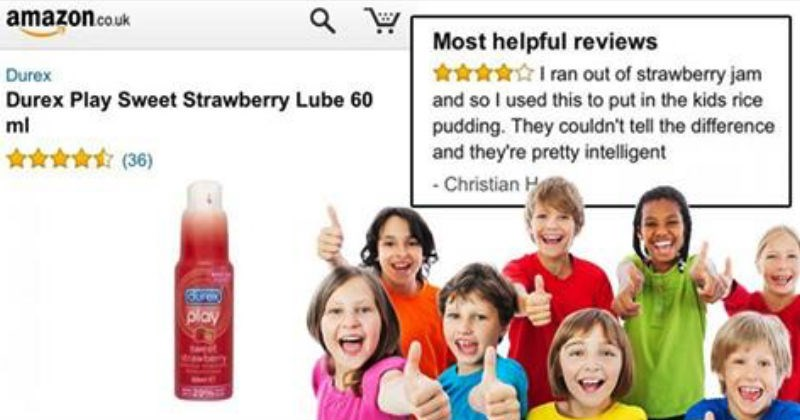 Funny online reviews left from customers that are pure comedic gold.
