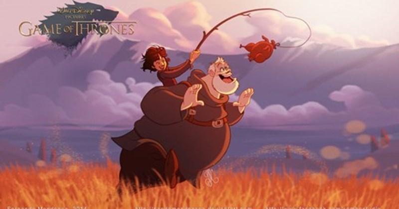 disney Game of Thrones Fan Art cartoons - 267781