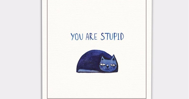 a funny list of postcards for your worst enemy