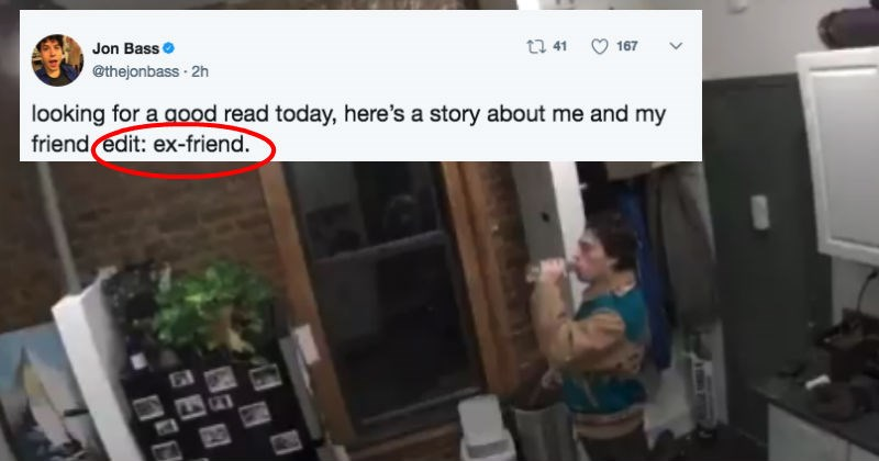 Guy uses Nest security camera and Amazon echo to troll his friend crashing at his place in most hilarious way possible.