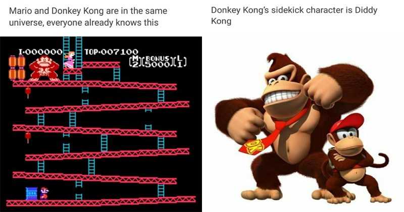 Funny Donkey Kong nintendo theory.
