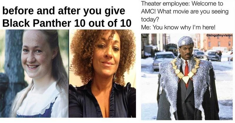 Funny Meme Black Panther : 19 black panther memes that get 2 thumbs up memebase funny memes