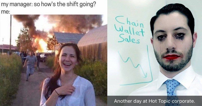 Funny work memes, office memes, boss, job.