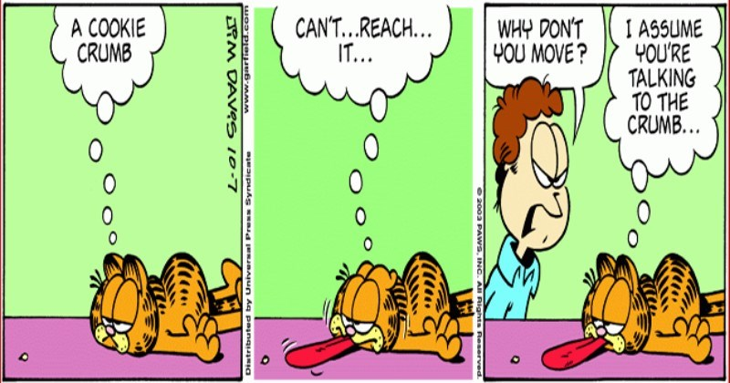 15 Garfield Comics To Remind Us Who The Original Lazy Cat Really Is I Can Has Cheezburger