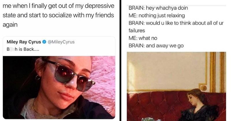 17 Mental Health Memes That Ll Speak To Your Soul Memebase