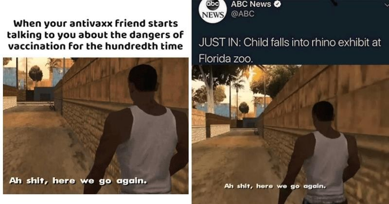 aw shit here we go again meme