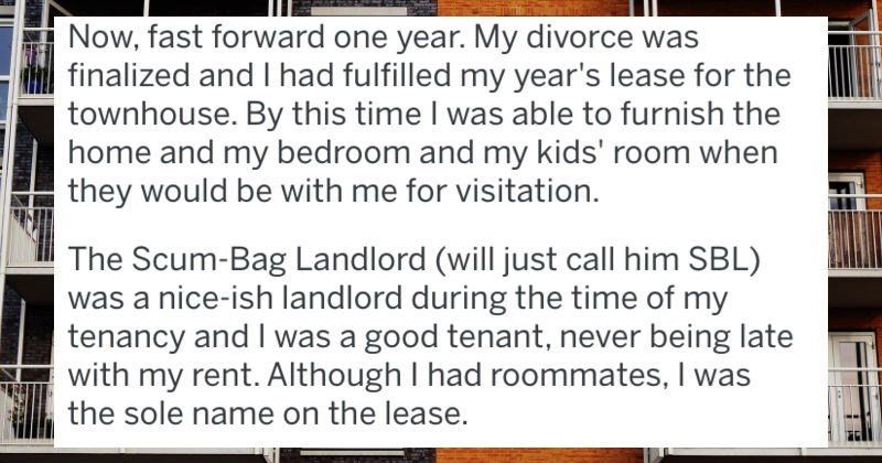 Bully Landlord Gets It In The End After Tenant's Nuclear