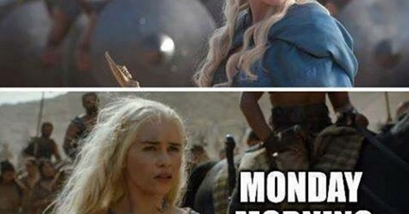 the morning after game of thrones is always rough