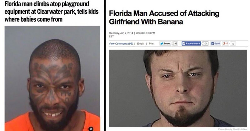 Florida Man Headlines That Provide Way More 'WTF' Than You Need In A Day