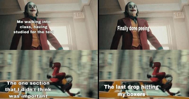 Joker Hit By Car Memes Are A Little Too Relatable Memebase