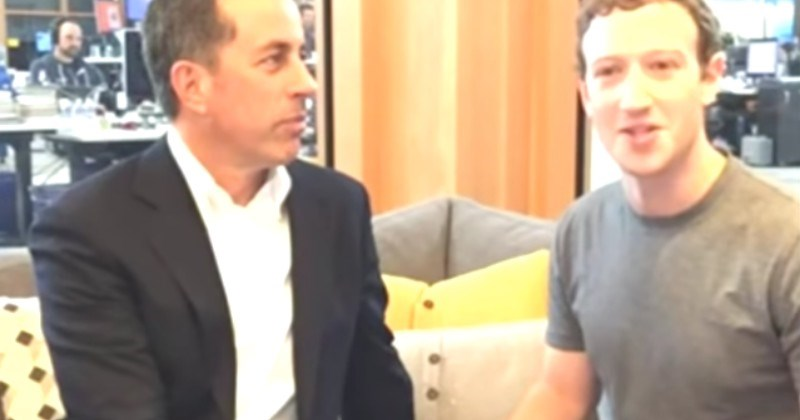 Video Seinfeld Failing To Make Small Talk With Zuckerberg Is A Cringe Goldmine