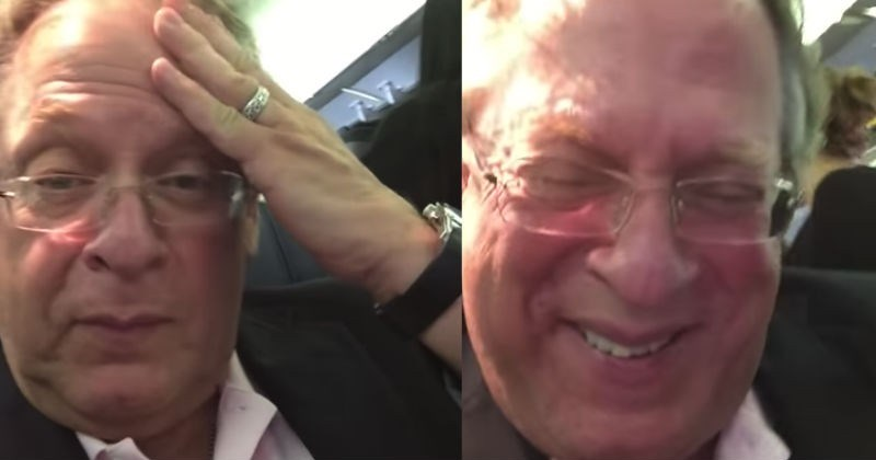 Video Listen As Passenger Screams In The Face Of A Screaming Kid