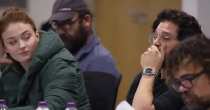 Video Game Of Thrones Cast Reacts To Their Season 8 Script