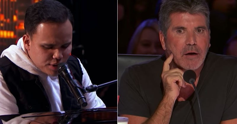 Video Blind Autistic Man Absolutely Shocks Judges On America's Got Talent