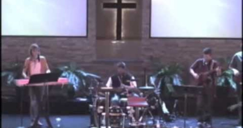 Video Horribly Offbeat Church Drummer Gives An Unholy Performance