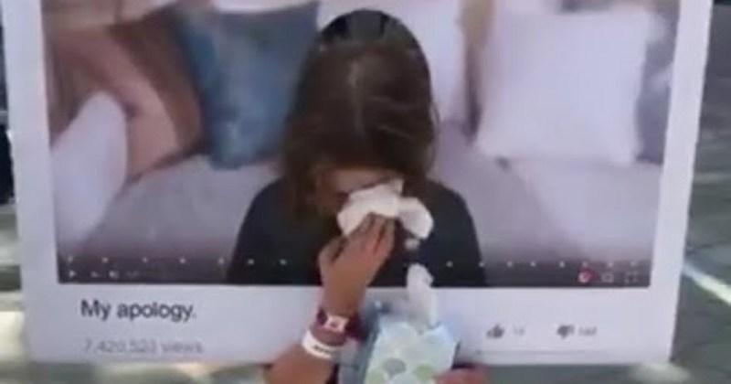 news logan paul kids trolling millennials influencer apology funny Video - 98411009