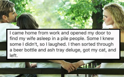 38 People Share Their Insane Stories of When They Walked In On Their Significant Other Cheating