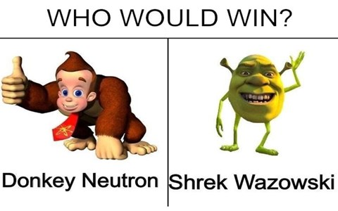 Collection of dank memes and spicy memes about Shrek, Jimmy Neutron, Buzzfeed, hentai, Amy Schumer, MS Paint, Fast and Furious, Robbie Rotten, atheism, god, masturbation, emoji movie, Drake, love.