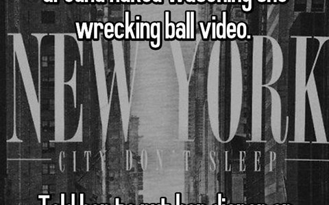 a funny thing that a mother caught her kid doing which was running around naked and singing wreaking ball so she told them to put on a dipar like miley cyrus did - a funy list of things parents have caught their kid doing and its so funny