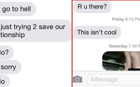 FAIL cringe Awkward conversation texting dating revenge - 3151877