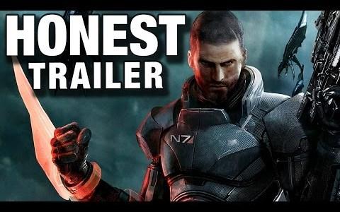 mass effect honest trailers Video