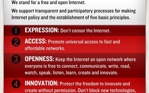 declaration declaration of internet f declaration of internet freedom Internet Freedom