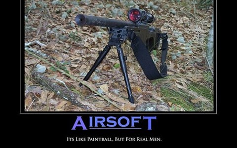 guns men paintball airsoft idiots funny