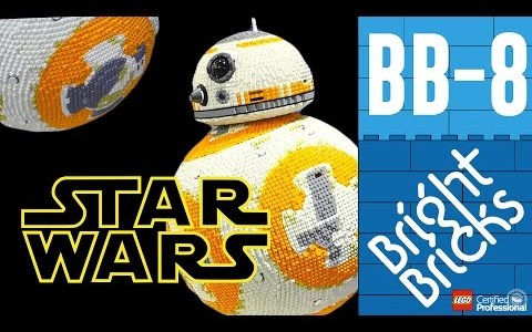 star wars lego bb 8 Video - 77496577