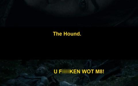 arya stark Game of Thrones season 4 the hound - 8175024384