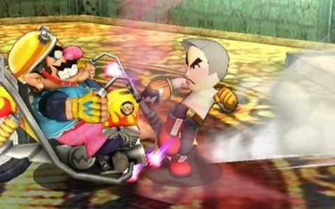 wario miis super smash bros professor oak - 8339939072