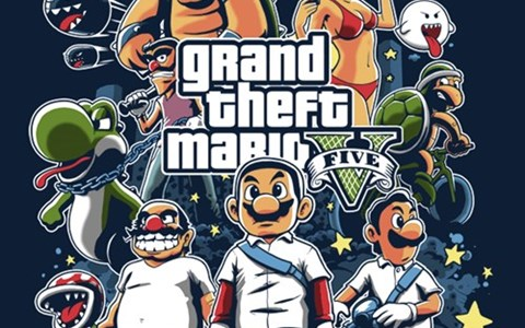 tshirts for sale Grand Theft Auto mario - 8413965568
